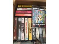 #JobLot Cassette Albums - Approx 40