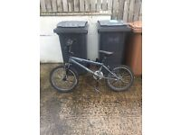 Two bikes, one red XC mountain bike and one free agent elider pro bmx for sale  Fife