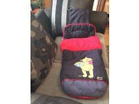 Winnie the Pooh pram cosy