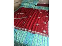 ASIAN/INDIAN SAREE PART/WEDDING WEAR NEARLY NEW