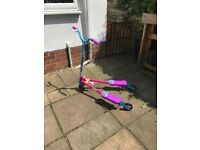 Evo Flicker Scooter in the larger size - hardly used in perfect condition