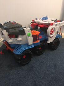 Fisher Price Imaginext Battle Rover