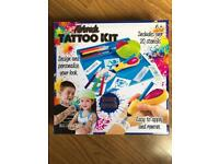 BRAND NEW AIRBRUSH TATTOO KIT - INCLUDES OVER 20 STENCILS