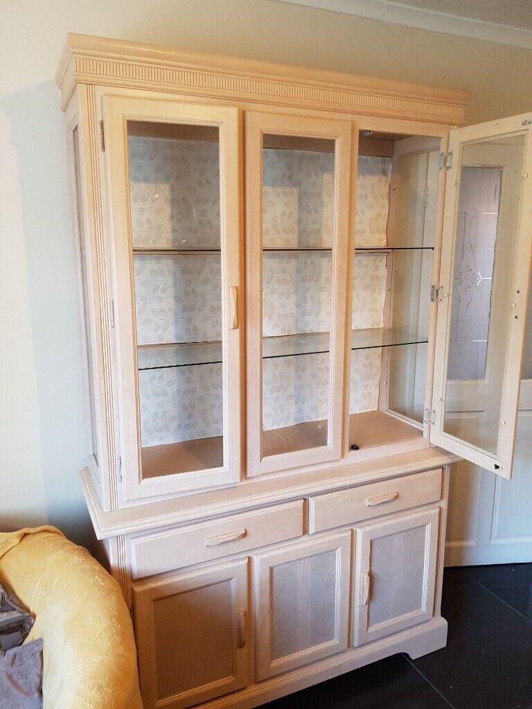 Large Welsh Dresser Cabinet Living Room Kitchen