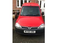 2008 (58) Vauxhall combo diesel van CDTI