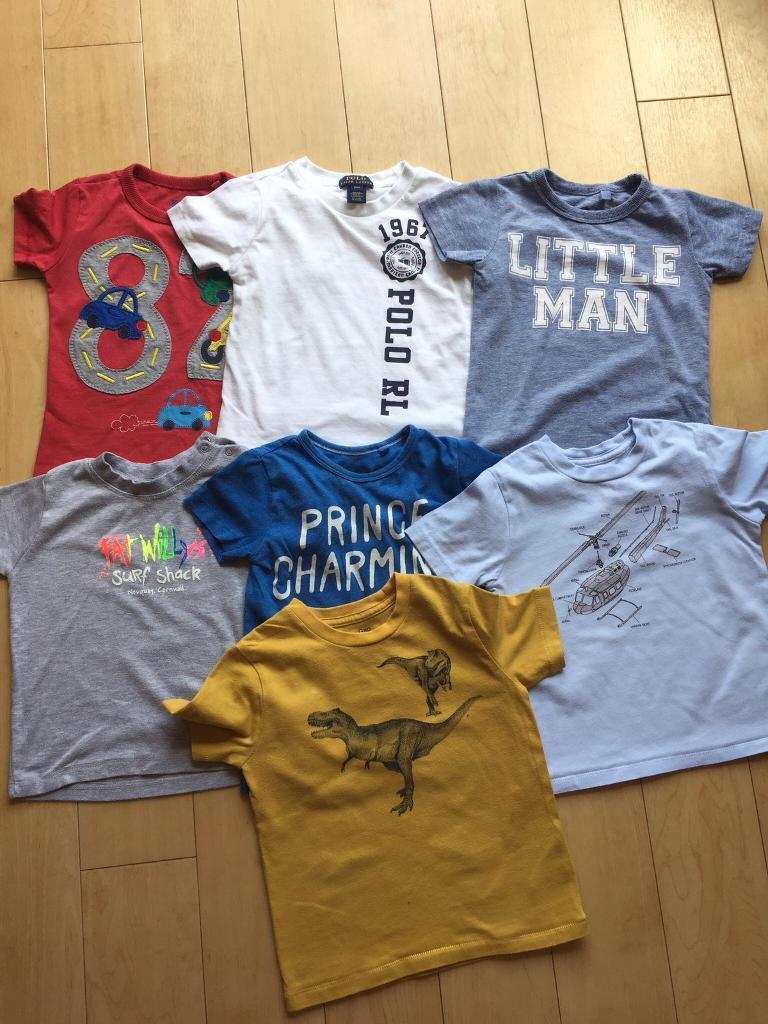 12-18 Month short sleeved tops