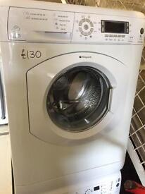 8KG HOTPOINT ULTIMA LCD DISPLAY WASHING MACHINE11