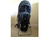 Deuter Kid Comfort III child carrier plus local hillwalking books in great condition