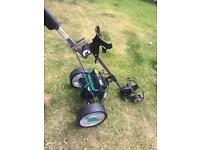 Hill billy electric/battery golf trolley