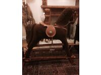 Large rocking horse, good condition,