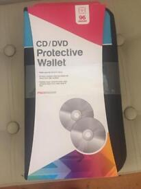 Cd DVD protective wallet