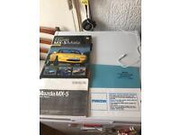 Mazda Mx5 manuals book