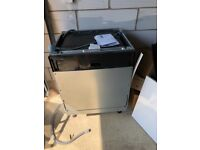 Integrated dishwasher Indesit ZDT21006FA, nearly new