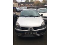 2006 Renault Clio 1.2 *being sold for spares or repairs*