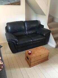 Leather sofa for sale in Drumfearn - SOLD