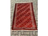 Red Afghan Baluchi rug