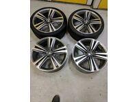 SEAT Leon cupra MK3 OEM R19 wheels