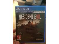 Evil Within 2, Resident Evil 7 - PS4 - Perfect condition, £15 each, or both for £25.