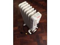 3 X Oil Filled Radiators 1500W each
