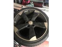 """5x112 18"""" Audi Alloys Wheels Not 17"""" 16"""" 225/40/18"""