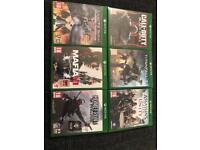 Xbox one game bundle call of duty mafia etc