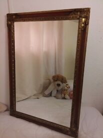 Large Mirror. Bargain £40 !!!!