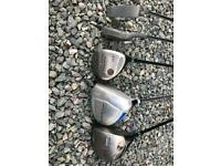 Various golf clubs x 11