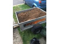Top soil In the trailer will deliver locally