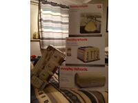 Morphy richards cream set and other