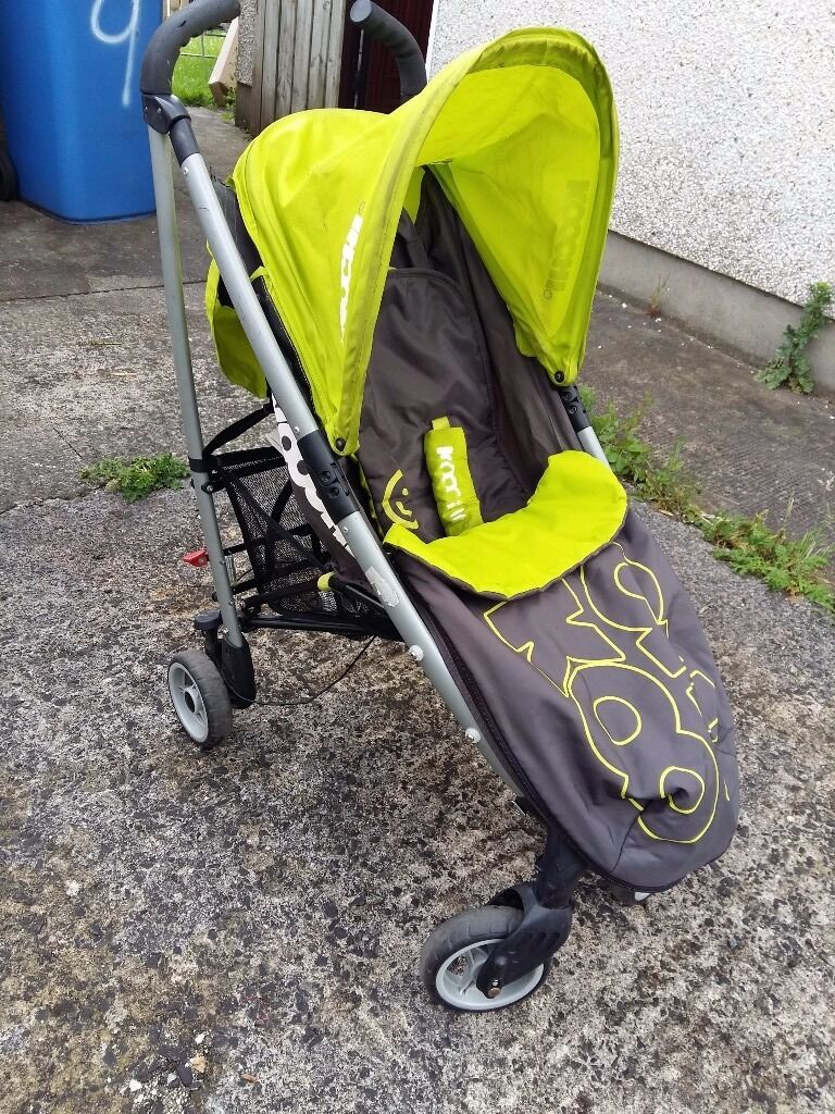 Cosatto Koochi Green Charcoal Pram Stroller In Newry