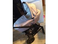 Joie chrome 3in1 travel system with extras