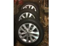 4 Transporter wheels