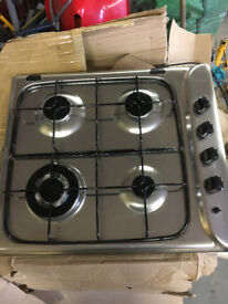 Indesit 4 Ring Gas Hob New