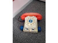 Vintage wind up telephone £10o.n.o