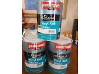 Johnstone's Trade Vinyl Soft Sheen 5 litre x 3