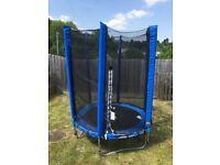 Plum junior trampoline, blue 4.5ft