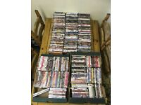 About 350 to 400 dvds all fab condition