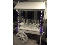 Candy Cart Hire & Balloons - West Midlands