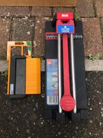 B&Q tile cutter and shaping template