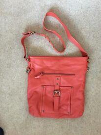 John Lewis leather bag