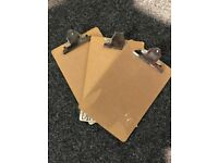 Clipboards - Job Lot of 52