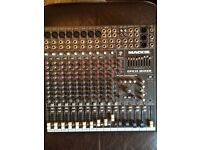 Mackie CFX12 Compact Mixer with Effects (12x4x1) home use only