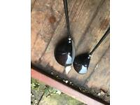 Ram Golf Driver and 3 wood - graphite shafts