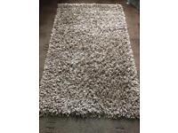 Beautiful Beige deep Pile Shaggy rug