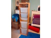 IKEA TROFAST wooden storage unit ( made from real pine)