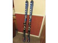 Salomon CROSSMAX08 Skis - L160 - Good condition with poles & bag