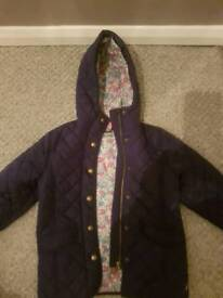 Girls Joules Coat