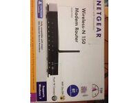 TP LINK / Belkin Wireless usb Adapter & Netgear DGN1000 N150 Wireless ADSL2+ Router Modem