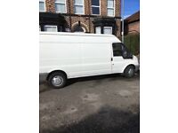 Van and driver to collect and deliver your items