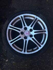 Honda Civic EP3 Type R alloy wheel